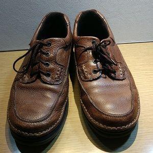 Nunn Bush Brown Leather Casual Shoes